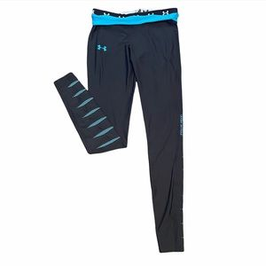 Under Armour Fitted ColdGear Slash Tights Leggings